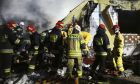 Πολωνοί πυροσβέστες - φωτό αρχείου