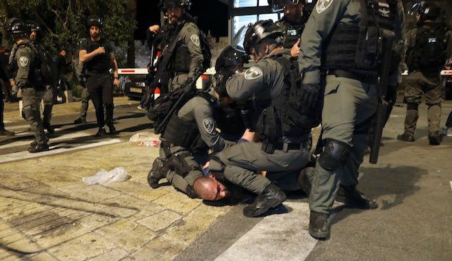 Συγκρούσεις Παλαιστινίων και ισραηλινής αστυνομίας στην Ιερουσαλήμ, 7 Μαΐου 2021