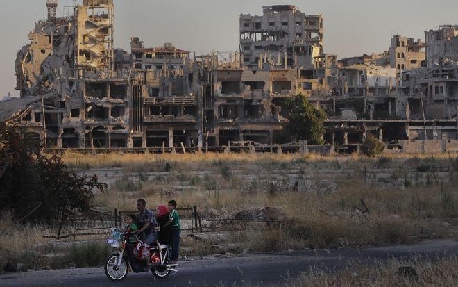 Εικόνα από την κατεστραμμένη Συρία
