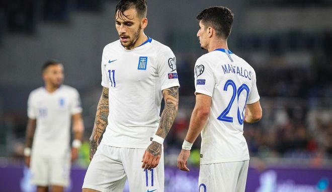 ΠΡΟΚΡΙΜΑΤΙΚΑ EURO 2020 / ΙΤΑΛΙΑ - ΕΛΛΑΔΑ  (ΦΩΤΟΓΡΑΦΙΑ: EUROKINISSI)
