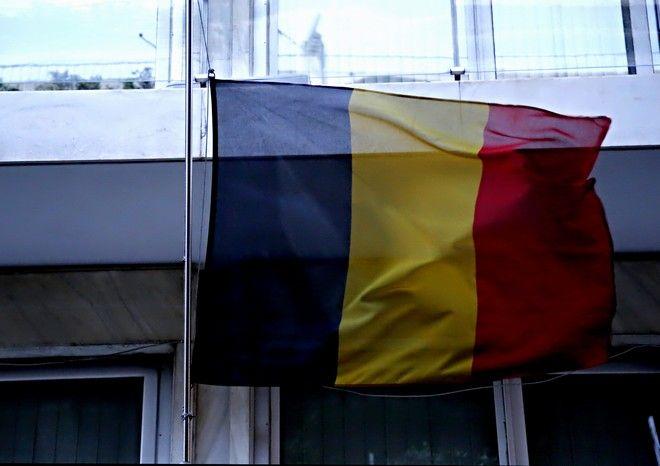 Συγκέντρωση συμπαράστασης στην πρεσβεία του Βελγίου στο Κολωνάκι.(Eurokinissi-ΣΤΕΛΙΟΣ ΜΙΣΙΝΑΣ)