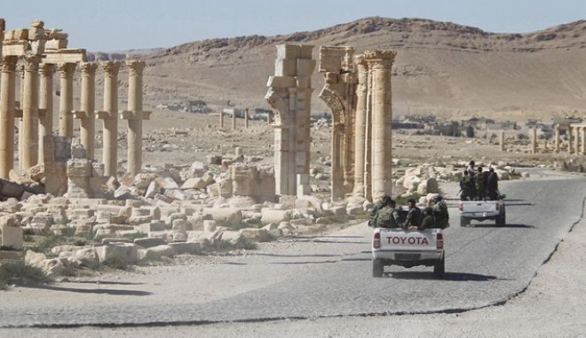 Νέα επίθεση για την ανακατάληψη της Παλμύρας από τον ISIS