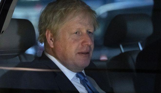 Ο βρετανός πρωθυπουργός.