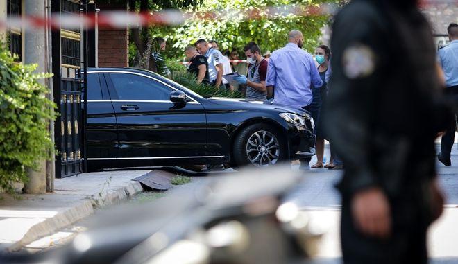 Δολοφονική επίθεση στο Ψυχικό το Σάββατο 8 Σεπτέμβρη 2018.  (EUROKINISSI / ΠΑΝΑΓΟΠΟΥΛΟΣ ΓΙΑΝΝΗΣ)
