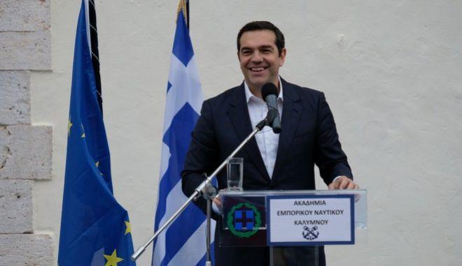 Επίσκεψη του Πρωθυπουργού, Αλέξη Τσίπρα στη Κάλυμνο