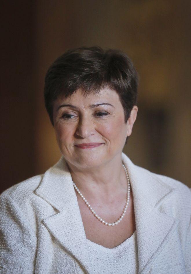 Η Κρισταλίνα Γκεοργκίεβα.