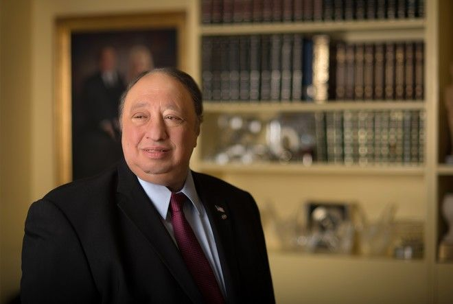 (EXCLUSIVE COVERAGE) NEW YORK, NY - JUNE 18:  John Catsimatidis poses during a Resident Magazine photo shoot on June 18, 2013 in New York City.  (Photo by Andrew H. Walker/Getty Images)