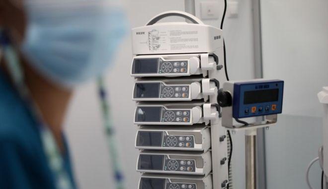 """Στιγμιότυπο από ΜΕΘ στο Γενικό Νοσοκομείο Θώρακος και Νοσημάτων """"Σωτηρία"""""""
