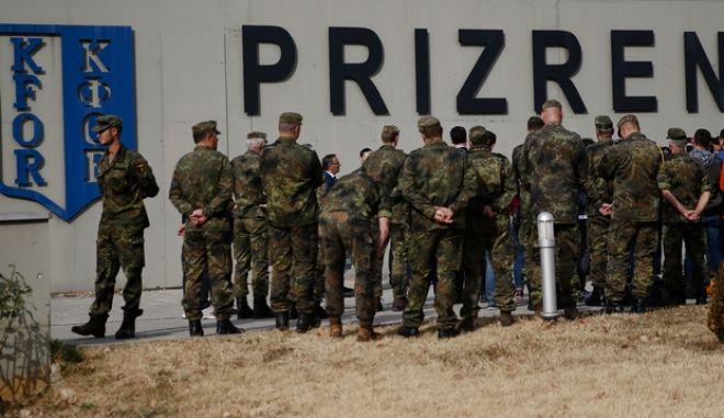 Γερμανοί στρατιώτες στο Κόσοβο