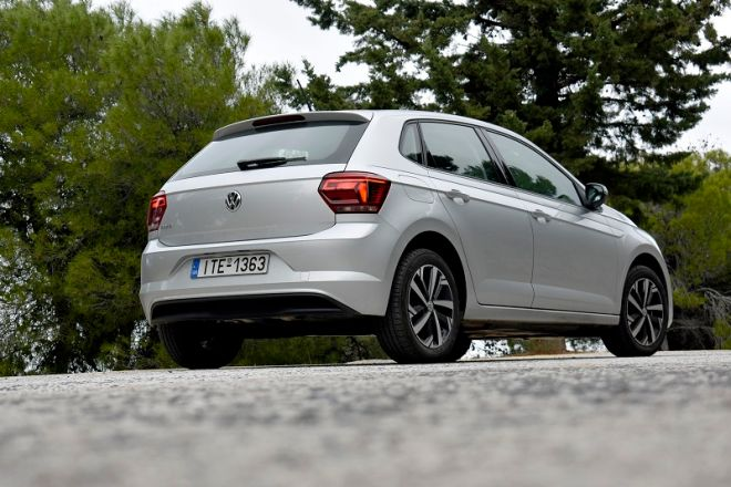 VW Polo: Ηγετική δύναμη που ξεχωρίζει με το IQ. Drive
