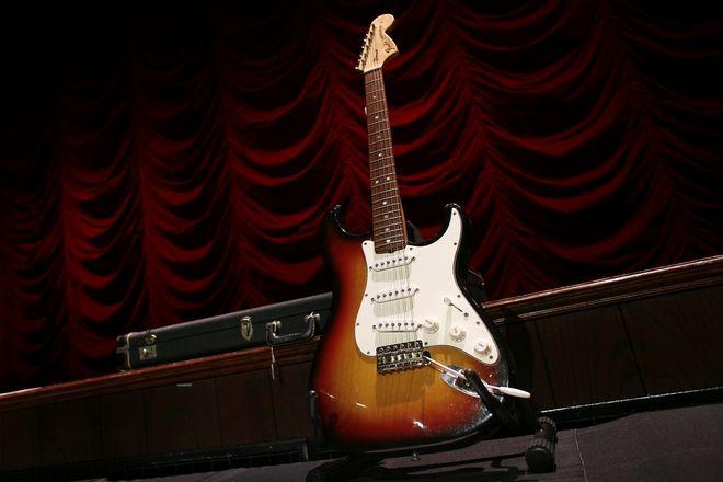 Η κιθάρα του Τζίμι Χέντριξ