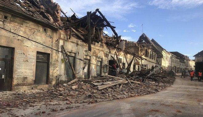 Σεισμός στην Κροατία