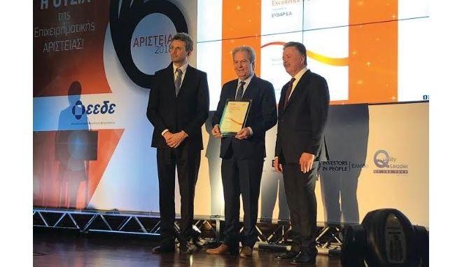 Διεθνής Πιστοποίηση Επιχειρηματικής Αριστείας, «EFQM Committed to Excellence 2 Star» για την ΕΥΔΑΠ