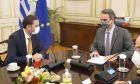 Συνάντηση του πρωθυπουργού με τον Υπουργό Εξωτερικών της Βόρειας Μακεδονίας, Bujar Osmani