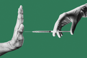 Ο φόβος των 30ρηδων πριν από το εμβόλιο