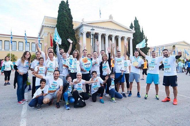 «Τρέξαμε Μαζί» στον Αυθεντικό Μαραθώνιο της Αθήνας