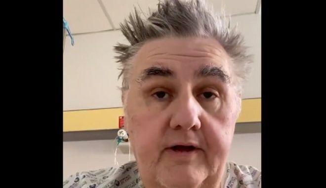 Ο Πιέρ Μενές από το νοσοκομείο