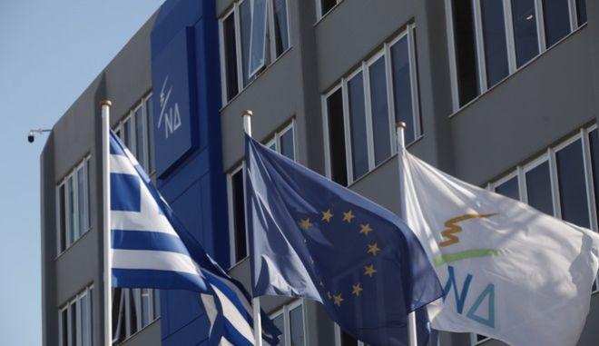 Παρουσίαση των προτάσεων της Νέας Δημοκρατίας για τη βελτίωση του καθεστώτος δωρεάς ανθρωπίνων ιστών β οργάνων και μεταμοσχεύσεων στην Ελλάδα την Τρίτη 1 Νοεμβρίου 2016, από την Κοινοβουλευτική Εκπρόσωπο  του Κόμματος, βουλευτή Επικρατείας, Νίκη Κεραμέως και του υπεύθυνου του Τομέα Υγείας, βουλευτή Λάρισας, Χρήστο Κέλλα, παρουσία του Προέδρου της Νέας Δημοκρατίας,  Κυριάκου Μητσοτάκη. (EUROKINISSI/ΓΙΑΝΝΗΣ ΠΑΝΑΓΟΠΟΥΛΟΣ)