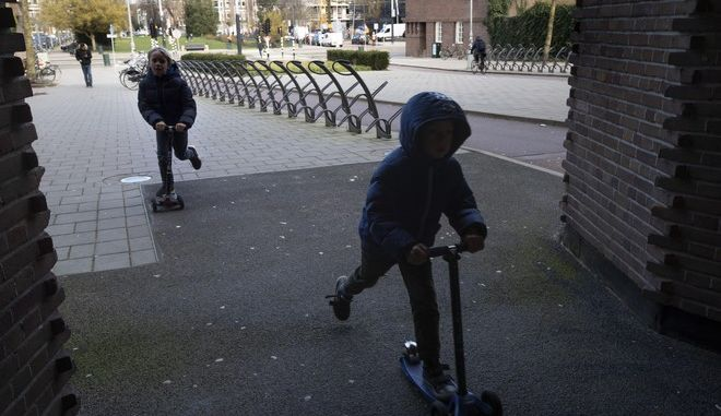 Παιδιά στην Ολλανδία