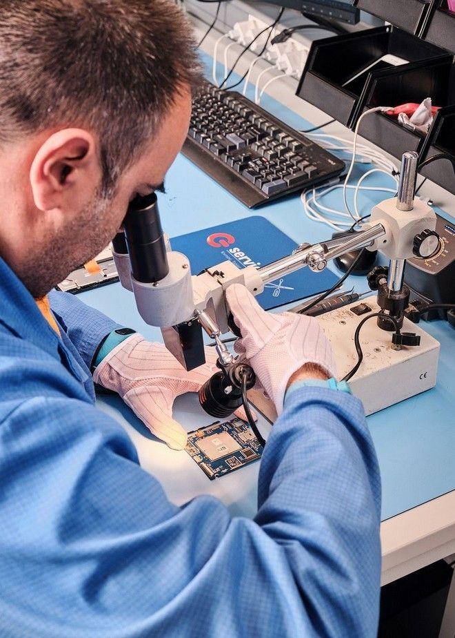 Στην καρδιά της τεχνολογίας: Μπήκαμε πρώτοι στο νέο επισκευαστικό κέντρο της ΓΕΡΜΑΝΟΣ