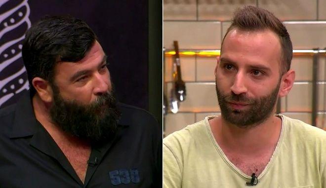 Γιώργος Βενιέρης και Τζώρτζης Παπανικολάου στο Top Chef