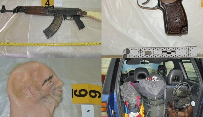 """Σύλληψη """"τοξοβόλου"""":  Είχαν όπλα με σφαίρες στις θαλάμες - Πιθανόν ετοίμαζαν ληστεία"""