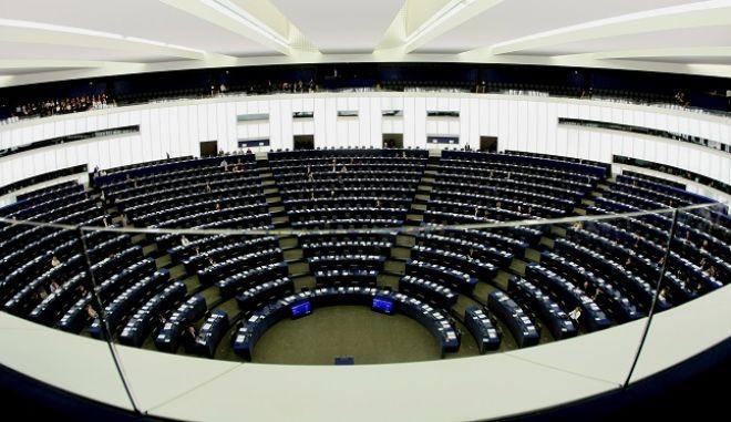 Στιγμιότυπο από το Ευρωπαϊκό Κοινοβούλιο