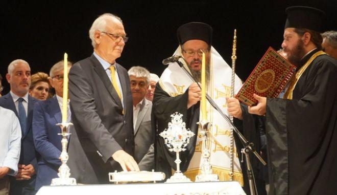 Ορκίστηκε ο δήμαρχος Λαρισαίων Απόστολος Καλογιάννης