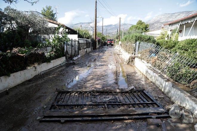 Καταστροφές στην Κινέτα, από τα έντονα καιρικά φαινόμενα την Δευτέρα 25 Νοεμβρίου 2019