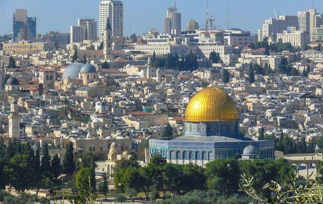 Jerusalem Temple Mount Golden Dome Israel