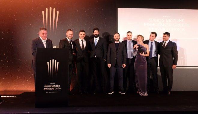 Στιγμιότυπο από τα  Greek Bookmaker Awards 2020