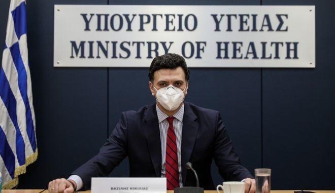 Ο υπουργός Υγείας Βασίλης Κικίλιας, προανήγγειλε σκληρότερο Lockdown
