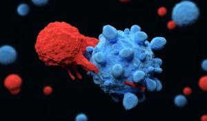Ψηφιακή απεικόνιση δράσης κυτταρικής θεραπείας κατά του καρκίνου.