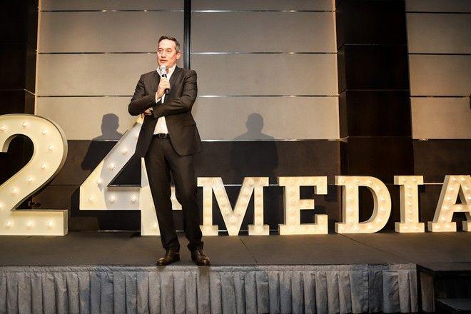 Δημήτρης Μάρης,  Ιδιοκτήτης και Πρόεδρος 24MEDIA