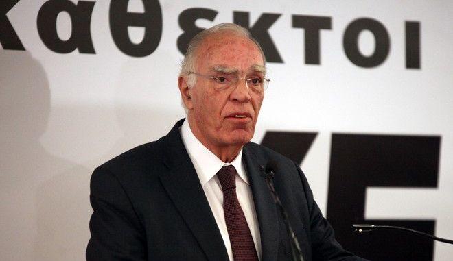 ΑΘΗΝΑ-Ο πρόεδρος της Ένωσης Κεντρώων, Βασίλης Λεβέντης,  πραγματοποίησε ομιλία σε στελέχη και μέλη του κόμματος.(Eurokinissi-ΖΩΝΤΑΝΟΣ ΑΛΕΞΑΝΔΡΟΣ)