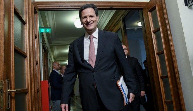 O υφυπουργός Οικονομικών Θεόδωρος Σκυλακάκης