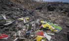 Εικόνα από το σημείο όπου συνετρίβη το αεροσκάφος της Ethiopian Airlines