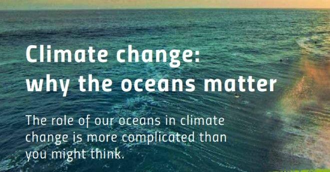 Ο ρόλος των ωκεανών στην κλιματική αλλαγή