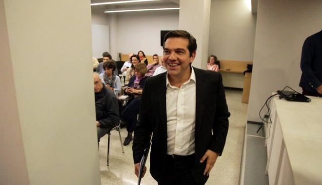 ΑΘΗΝΑ-Συνεδριάζει η νέα Πολιτική Γραμματεία του ΣΥΡΙΖΑ,υπό τον πρωθυπουργό και πρόεδρο του ΣΥΡΙΖΑ, Αλέξη Τσίπρα.(EUROKINISSI-ΠΑΝΑΓΟΠΟΥΛΟΣ ΓΙΑΝΝΗΣ)