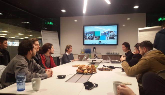 Επίσκεψη σπουδαστών του Athens Tech College στα γραφεία της Workable στην Ελλάδα