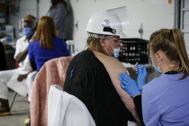 Εμβολιασμός κατά του κορονοϊού στις ΗΠΑ