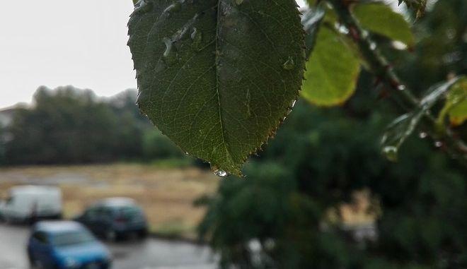 Βροχή στα Τρίκαλα