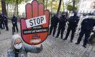 Διαδηλώτρια υπέρ του δικαιώματος στην έκτρωση