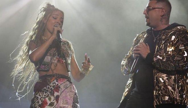 Η Ελένη Φουρέιρα και ο Mad Clip
