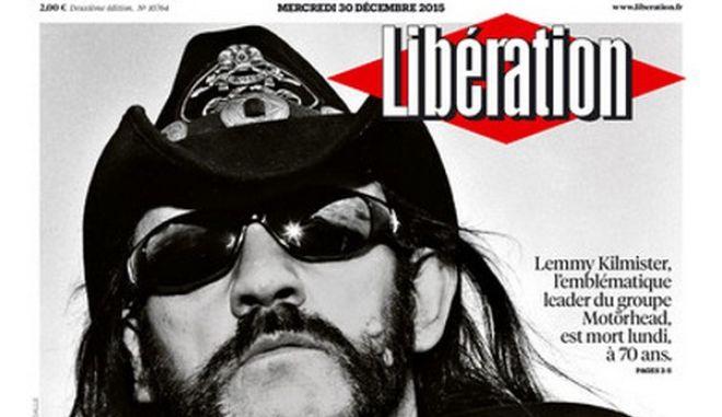 Η Liberation αποχαιρετά τον Lemmy