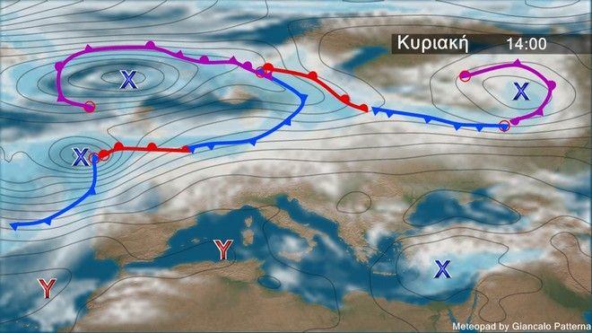 Μεταβολή του καιρού κυρίως στα ανατολικά - Πτώση θερμοκρασίας