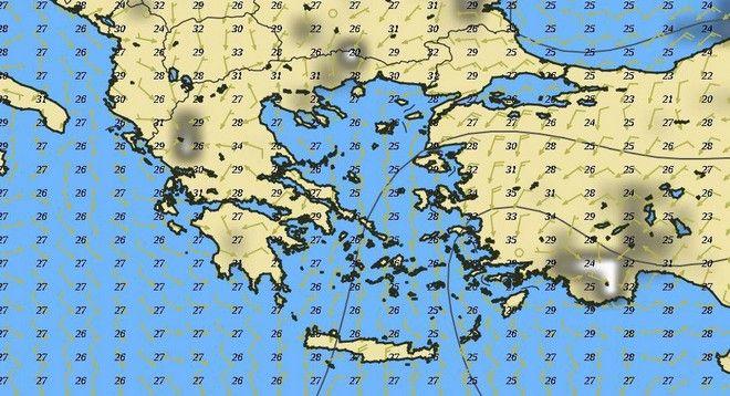 Καιρός: Το μελτέμι ρίχνει τη θερμοκρασία - Νέα άνοδος από την ερχόμενη Παρασκευή