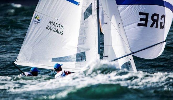 Αναβλήθηκε η medal race των Μάντη-Καγιαλή