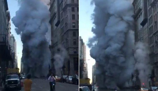 Εκρηξη συντάραξε το Μανχάταν!
