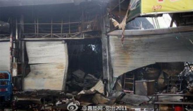 Κίνα: Τουλάχιστον 16 νεκροί από πυρκαγιά σε αγορά τροφίμων στην πόλη Σεντζέν